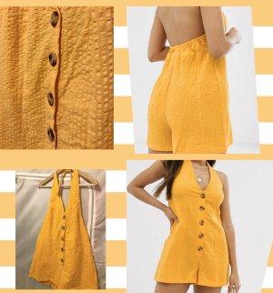 Asos Petite Beachwear gold orange