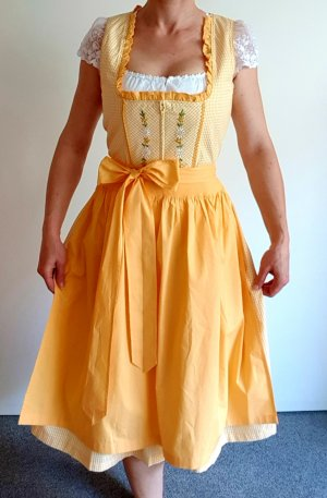 Country Line Dirndl yellow-gold orange
