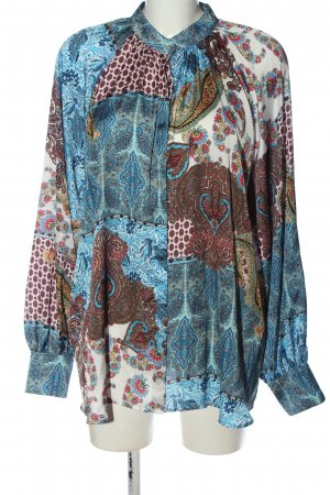 Sophie Blouse Shirt abstract pattern elegant
