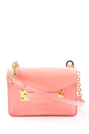 Sophie Hulme Mini sac rose style décontracté