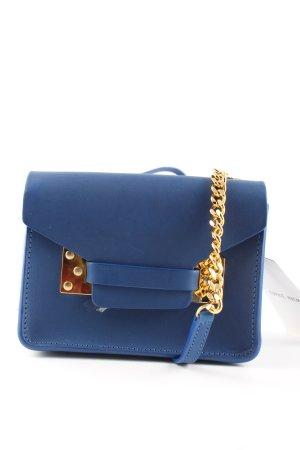 Sophie Hulme Mini sac bleu élégant