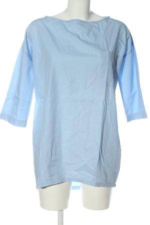 Sophie Langarm-Bluse blau Casual-Look