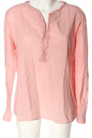 Sophie Langarm-Bluse pink Casual-Look