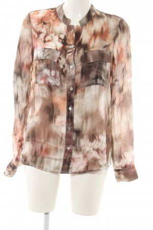 Sophie Seidenbluse abstraktes Muster Casual-Look