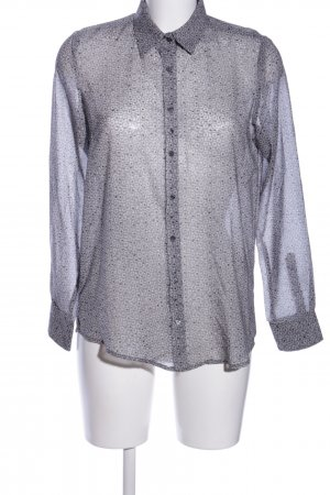 Sophie Seidenbluse grafisches Muster Casual-Look