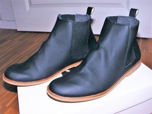 Sorbas vegane Chelsea Boots Stiefeletten schwarz Gr. 39 vegane Schuhe
