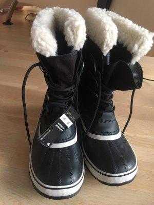 Sorel Bottes de neige noir-blanc