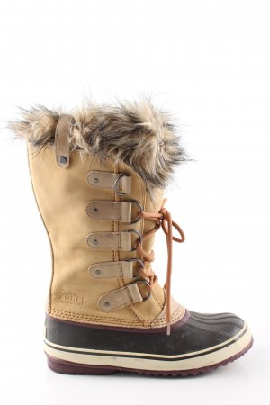 Sorel Fur Boots multicolored casual look