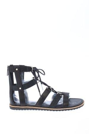 Sorel Römer-Sandalen schwarz Casual-Look