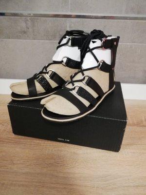 Sorel Sandalias romanas negro