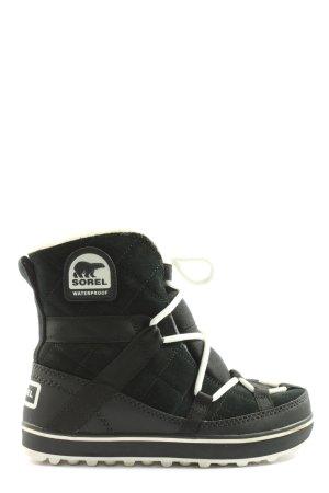 Sorel Slappe laarzen zwart casual uitstraling