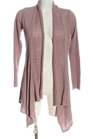 Sorgenfri Sylt Cardigan pink Casual-Look