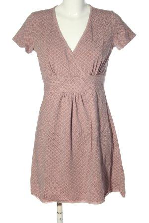 Sorgenfri Sylt Minikleid pink-schwarz Allover-Druck Casual-Look
