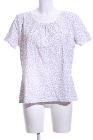 Sorgenfri Sylt T-Shirt Allover-Druck Casual-Look