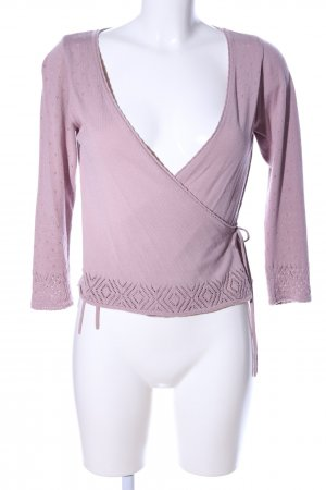 Sorgenfri Sylt Wickelshirt pink Casual-Look