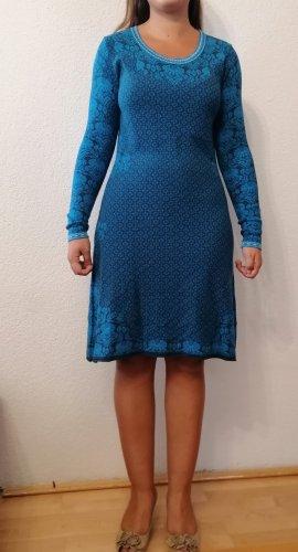 Sorgenfri Sylt Robe en laine bleu-bleu pétrole