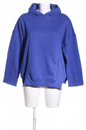 SoSUE Kapuzenpullover blau Casual-Look