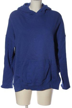 SoSUE Kapuzensweatshirt blau Casual-Look