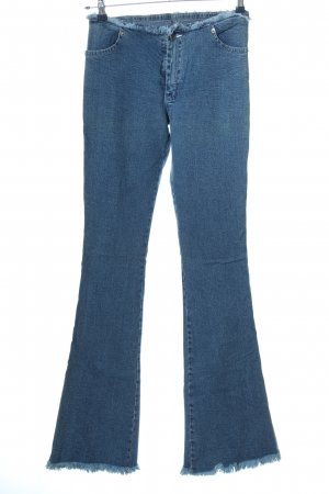 sottotono jeans Spijker flares blauw casual uitstraling