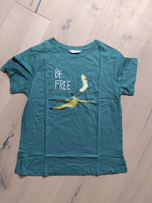 Soulmia Shirt T-Shirt Slogan Statement be free Banana