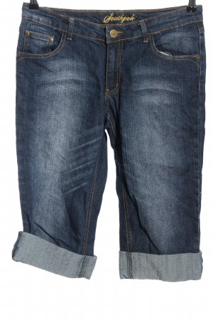 Southpole 3/4 Jeans blau-goldfarben Casual-Look