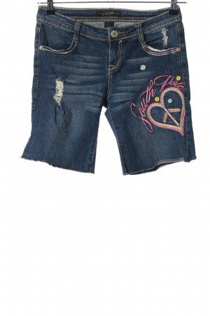 Southpole Jeansshorts blau Casual-Look