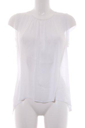 Souvenir Clubbing Kurzarm-Bluse weiß
