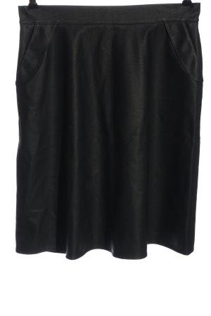 Souvenir Faux Leather Skirt black casual look