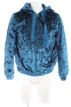 SOYA Fashion Blouson blau Casual-Look
