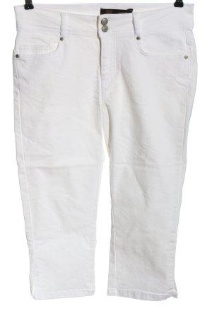 Soyaconcept Pantalone a 3/4 bianco stile casual