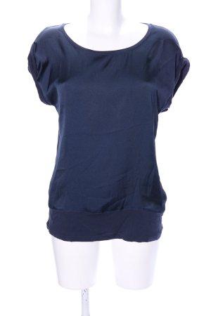 Soyaconcept ärmellose Bluse blau Casual-Look