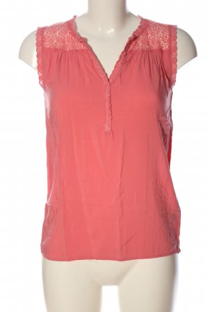 Soyaconcept ärmellose Bluse pink Casual-Look