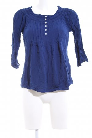 Soyaconcept Blusa estilo Crash azul look casual