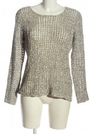 Soyaconcept Crochet Shirt light grey cable stitch casual look