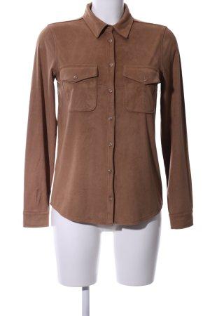 Soyaconcept Hemd-Bluse bronzefarben Business-Look