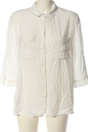 Soyaconcept Hemd-Bluse weiß Casual-Look