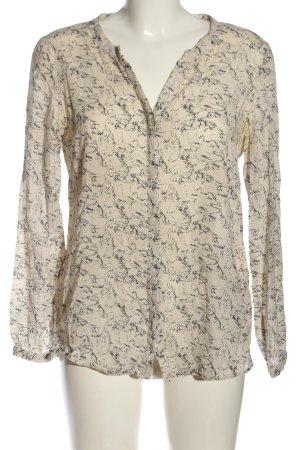 Soyaconcept Camicia blusa bianco sporco-grigio chiaro motivo astratto