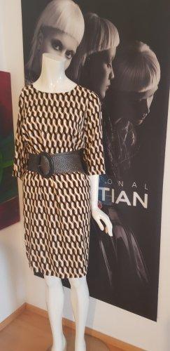 Soyaconcept hype London Designer Kleid 100 % Viskose small retro  Vintage mit gürtel