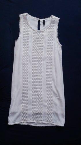 Soyaconcept Kleid L 40 Stickerei weiß Sommerkleid