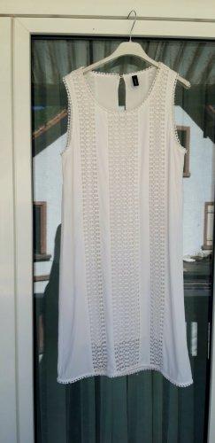 Soyaconcept Kleid M 38 Stickerei weiß Sommerkleid