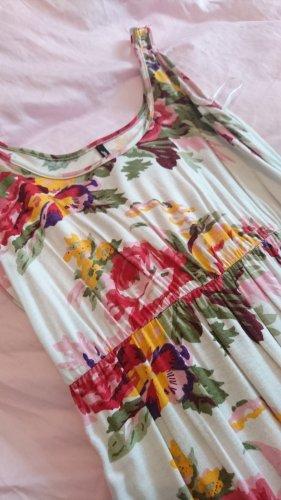 soyaconcept Kleid Sommerkleid Blumen weiß 34 xs