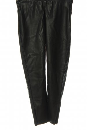 Soyaconcept Faux Leather Trousers black casual look