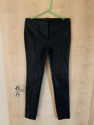 Soyaconcept Leather Trousers black