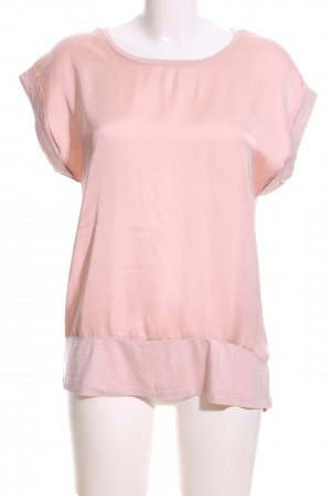 Soyaconcept Kurzarm-Bluse pink Casual-Look