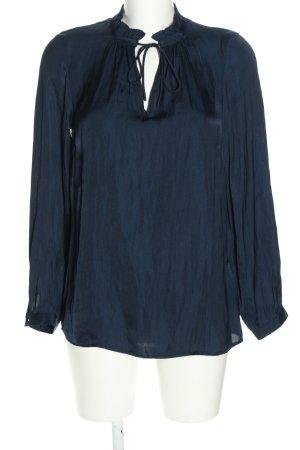 Soyaconcept Langarm-Bluse blau Farbverlauf Casual-Look