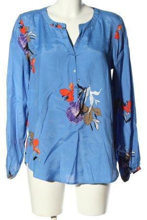 Soyaconcept Langarm-Bluse Blumenmuster Casual-Look