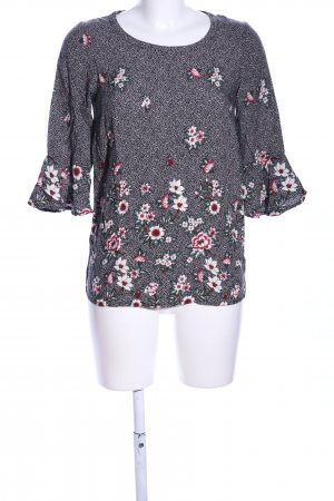 Soyaconcept Langarm-Bluse Allover-Druck Business-Look