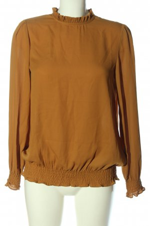 Soyaconcept Langarm-Bluse hellorange Casual-Look