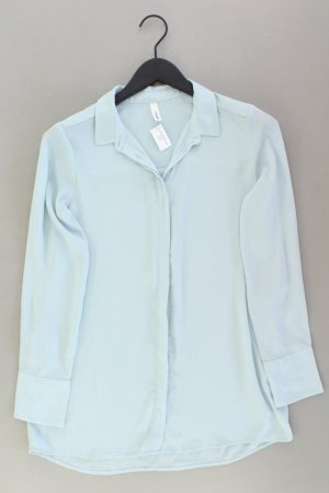 soyaconcept Langarmbluse Größe S blau aus Polyester