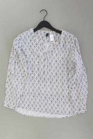 soyaconcept Langarmbluse Größe XL weiß aus Viskose